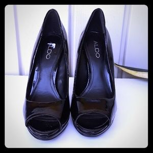 Aldo Black Shoes size 7